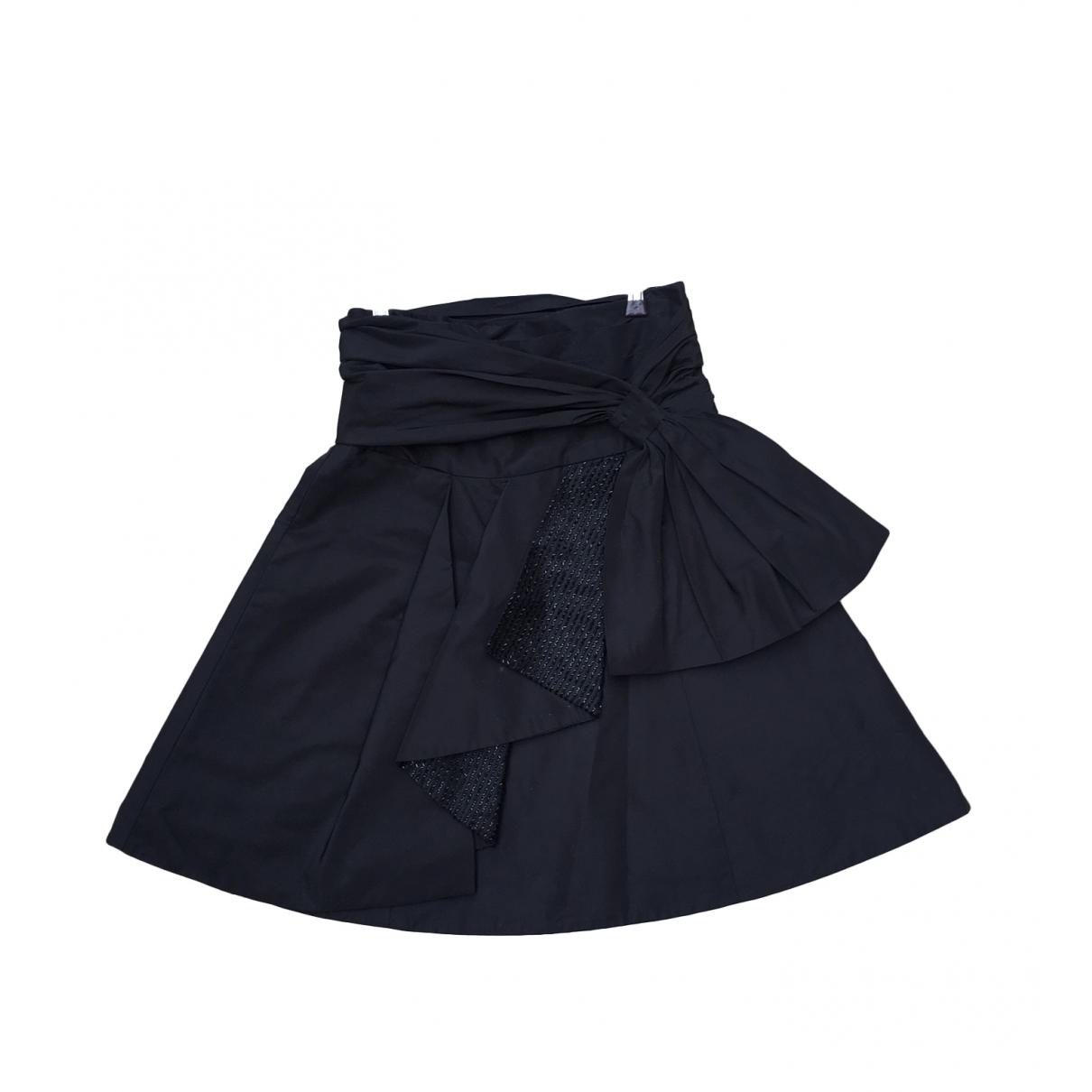 Ralph Lauren Collection - Jupe   pour femme en soie - noir
