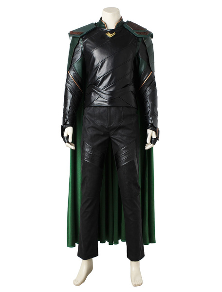 Milanoo Marvel Comics Thor Ragnarok Loki Marvel Comic Carnival Cosplay Costume