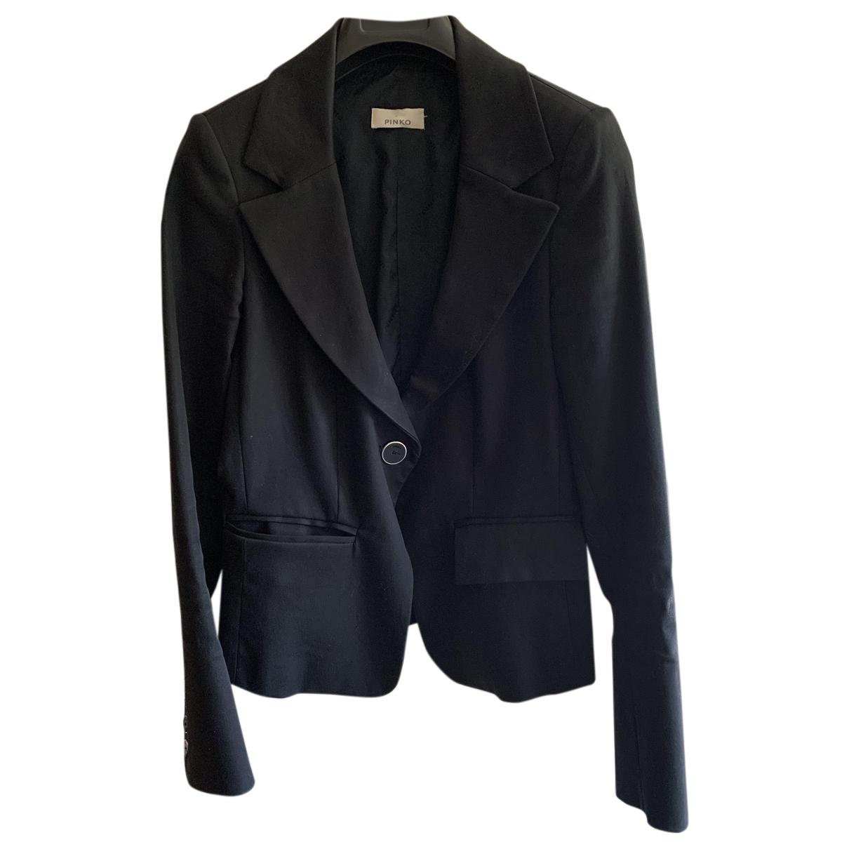 Pinko - Veste   pour femme en coton - noir