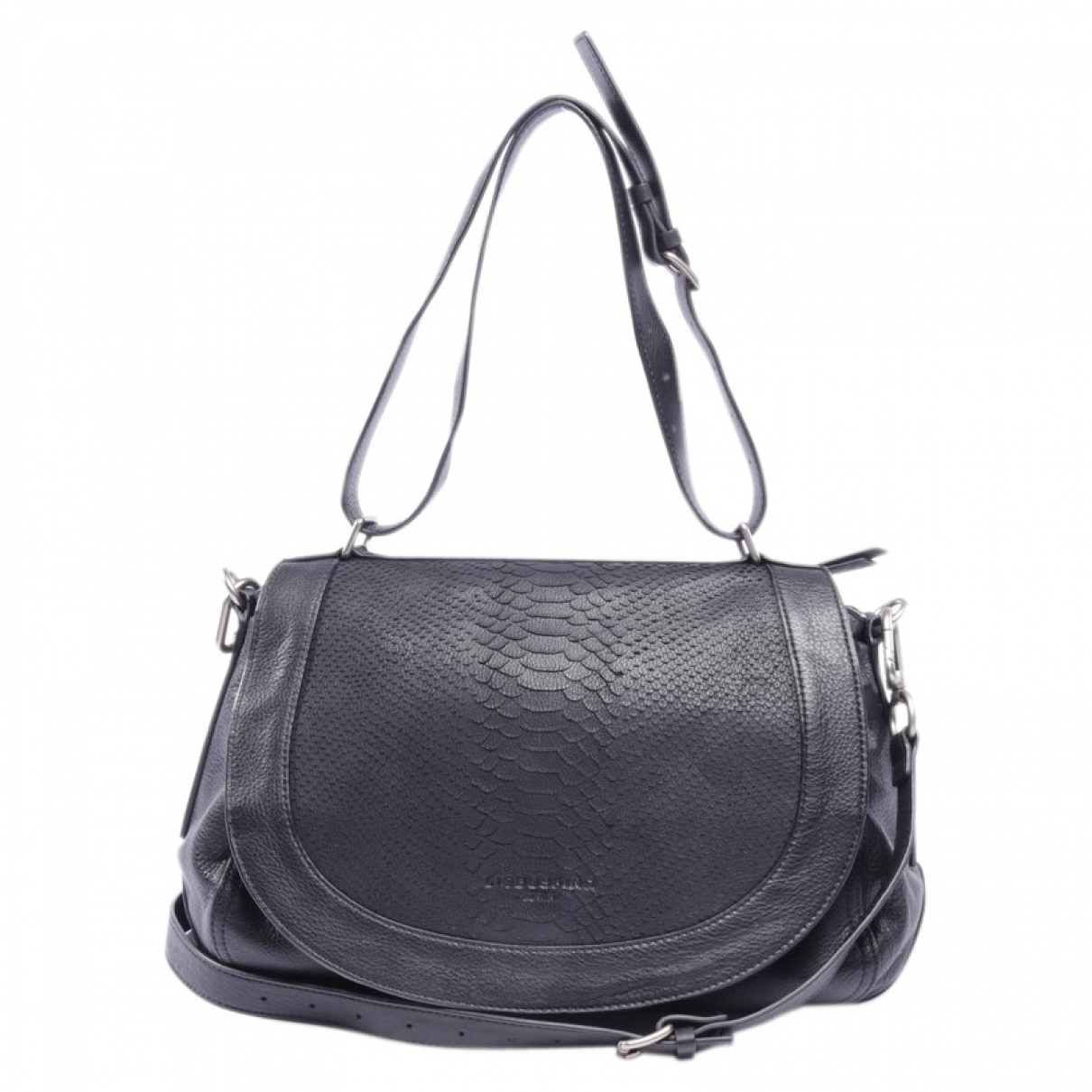 Autre Marque \N Black Leather handbag for Women \N
