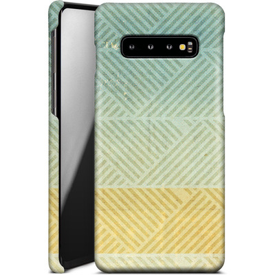Samsung Galaxy S10 Plus Smartphone Huelle - Triangles Artifact von Brent Williams