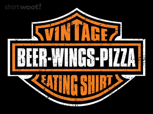 My Vintage Eating Shirt T Shirt