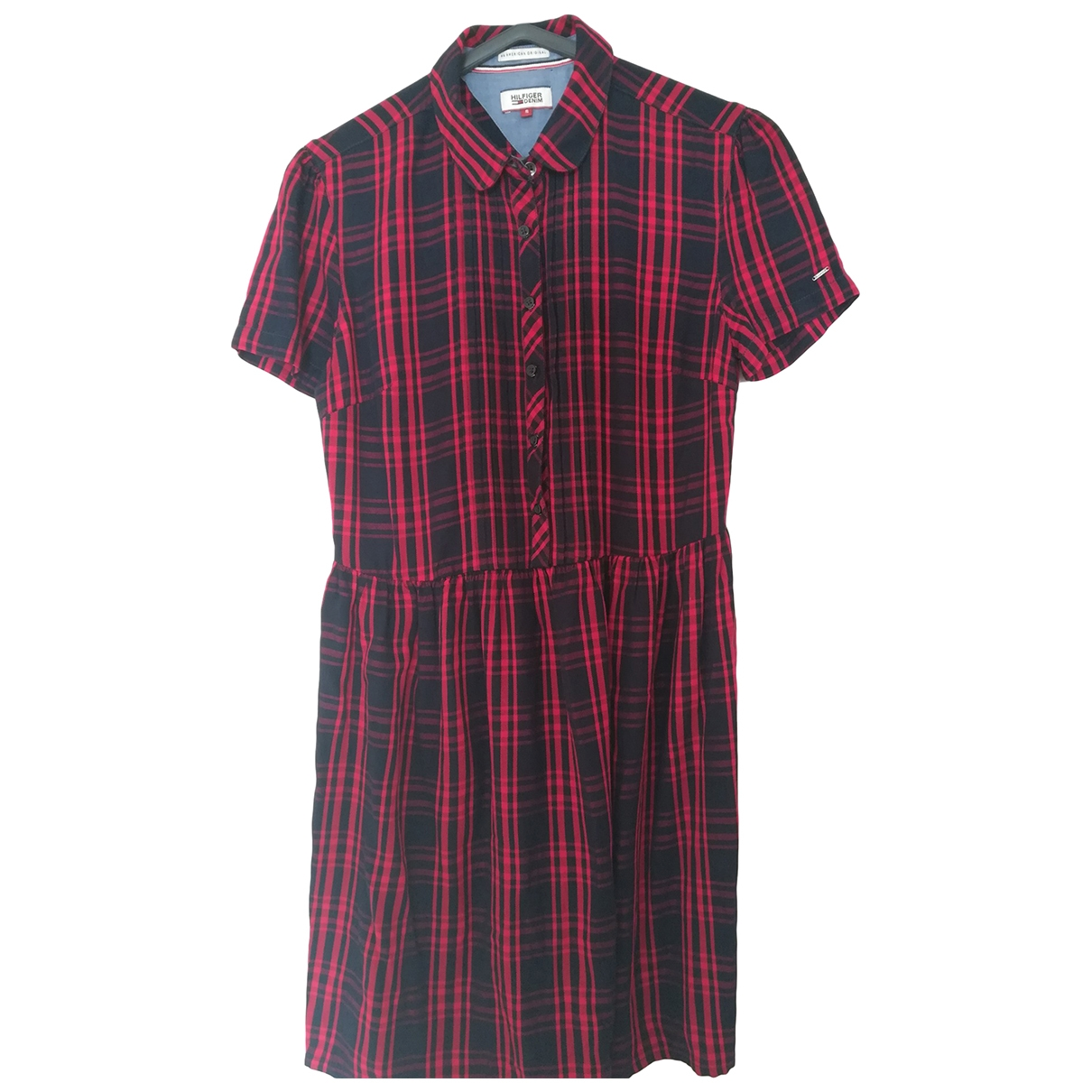 Hilfiger Collection \N Kleid in  Blau Baumwolle