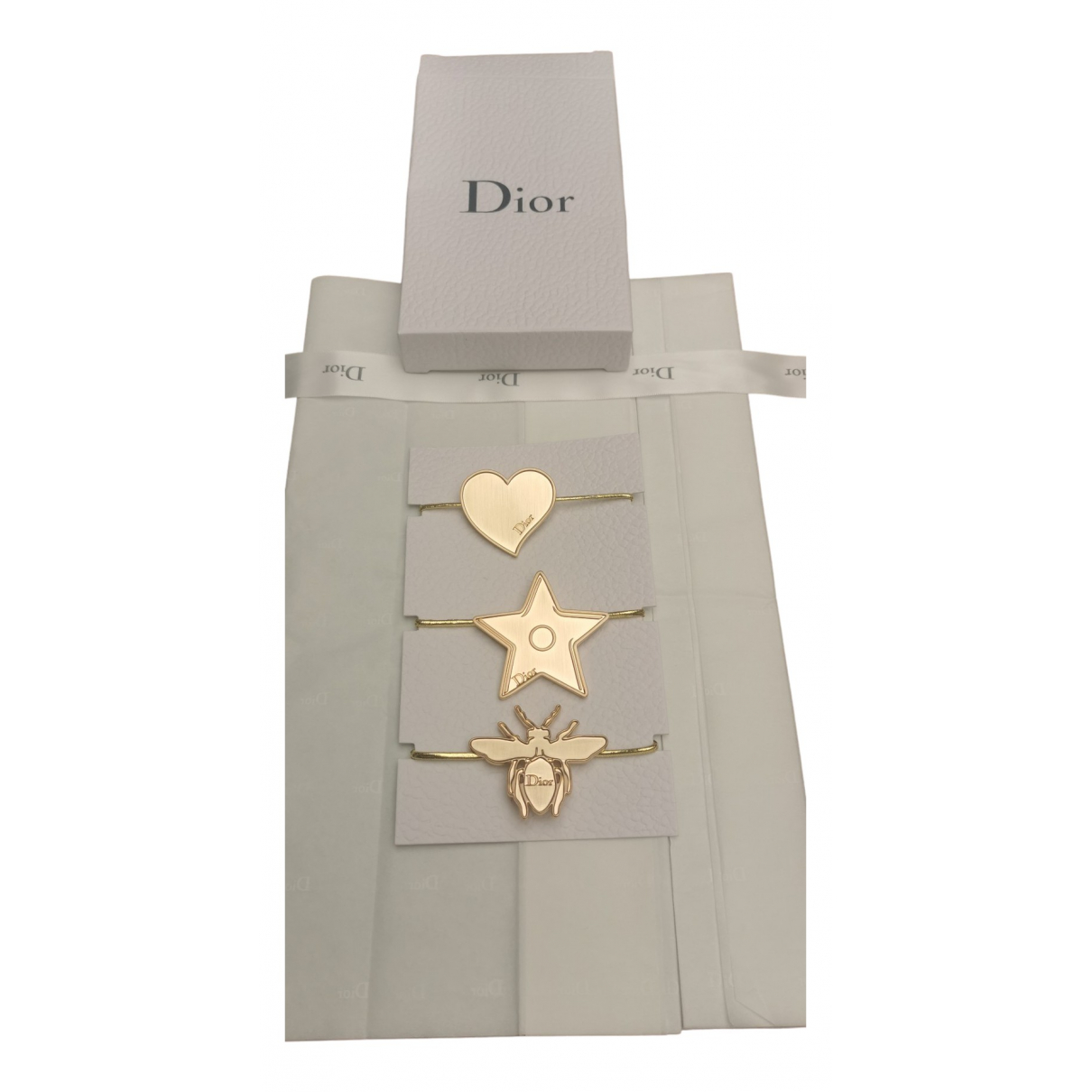 Dior - Bijoux de tete   pour femme en metal - dore