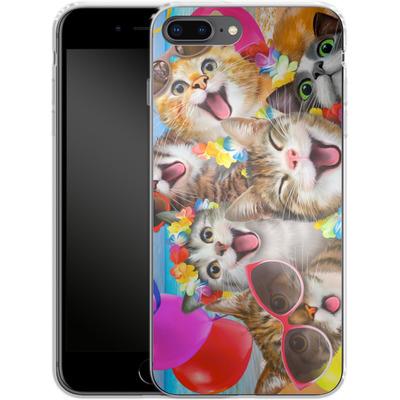 Apple iPhone 8 Plus Silikon Handyhuelle - Selfie Luau von Howard Robinson