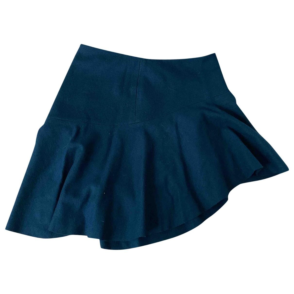 Mini falda de Lana Vanessa Bruno