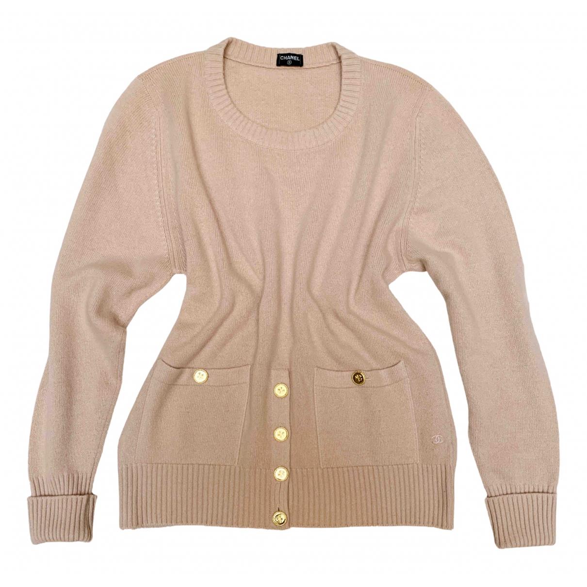 Chanel N Pink Cashmere Knitwear for Women 40 FR