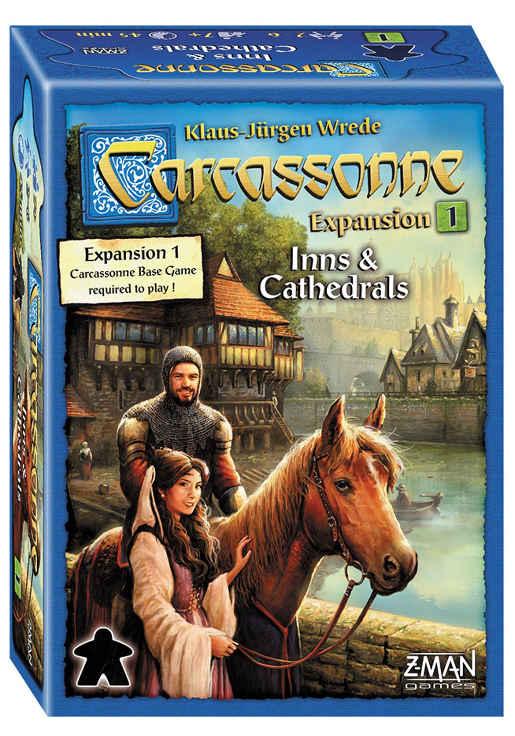 Inns and Cathedrals Expansion for Carcassonne Game