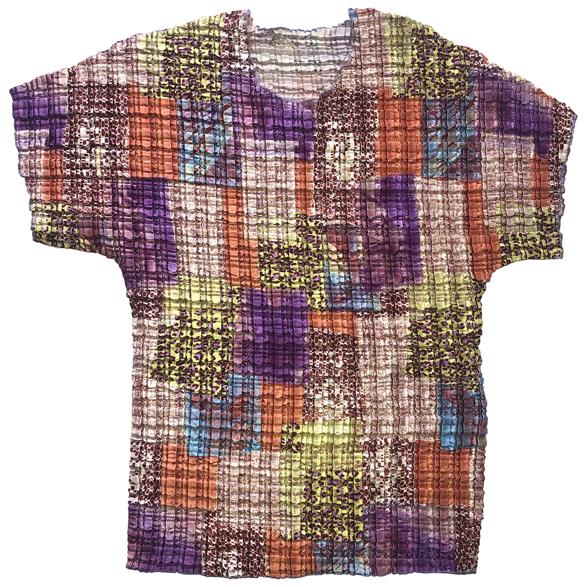 Non Signé / Unsigned Hippie Chic Multicolour  top for Women M International