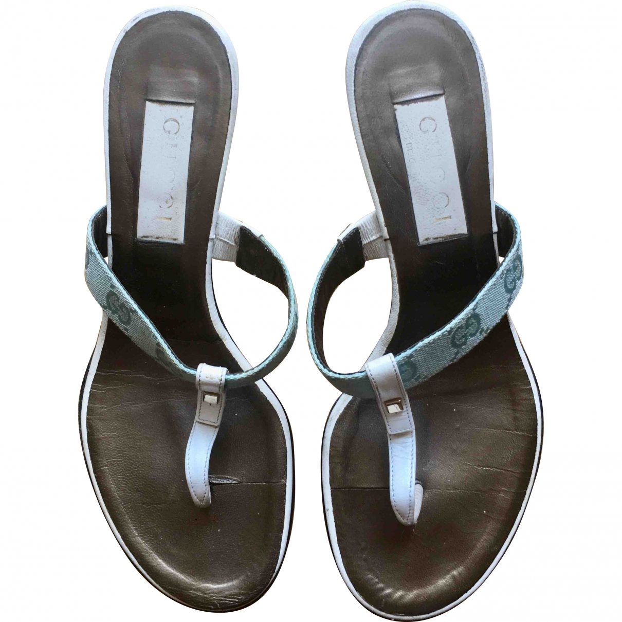 Gucci \N Cloth Heels for Women 37 EU