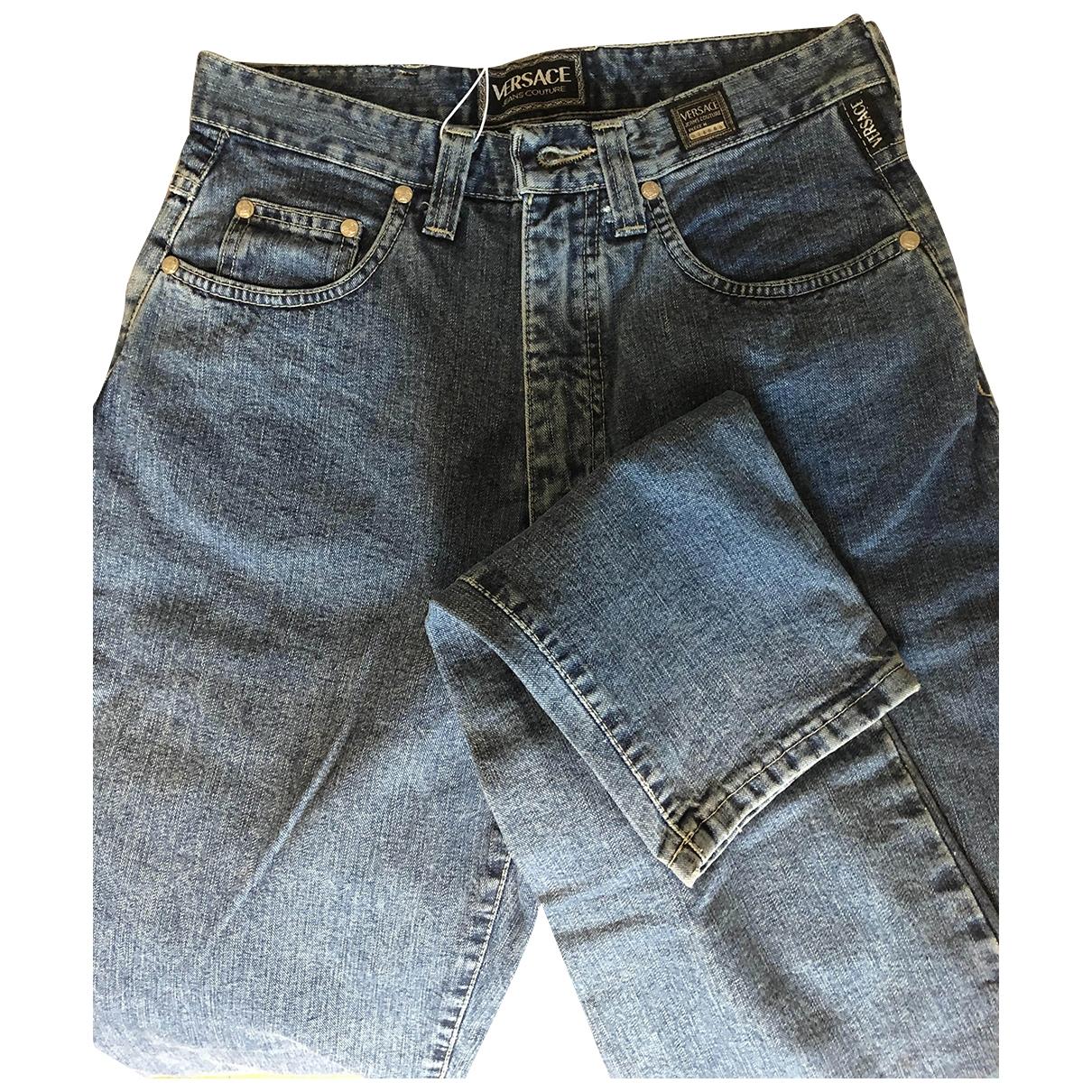 Versace \N Blue Denim - Jeans Jeans for Women 29 US