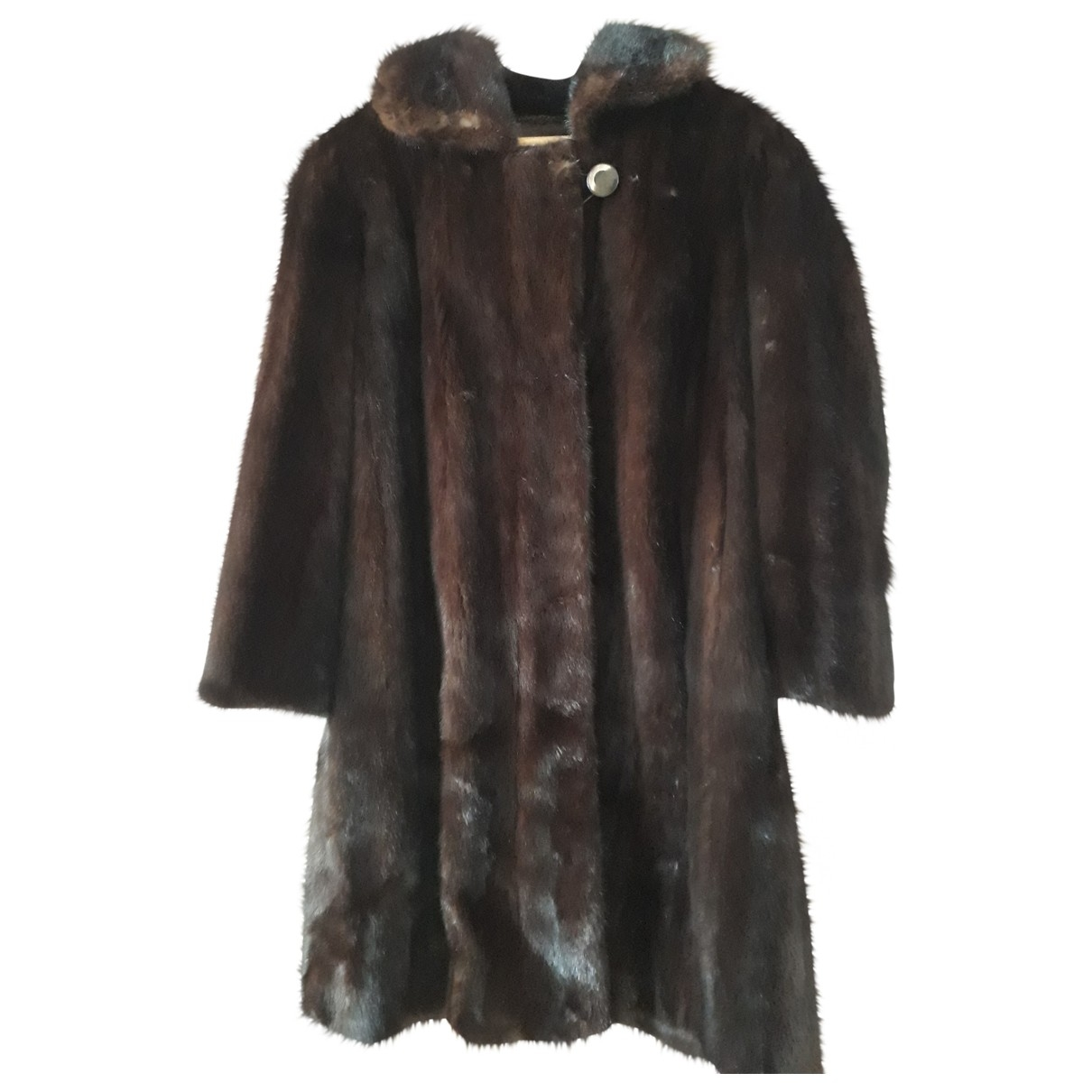 Saga Furs \N Brown Mink coat for Women 40 FR