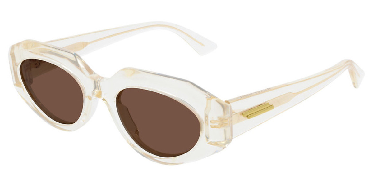Bottega Veneta BV1031S 004 Women's Sunglasses Brown Size 52