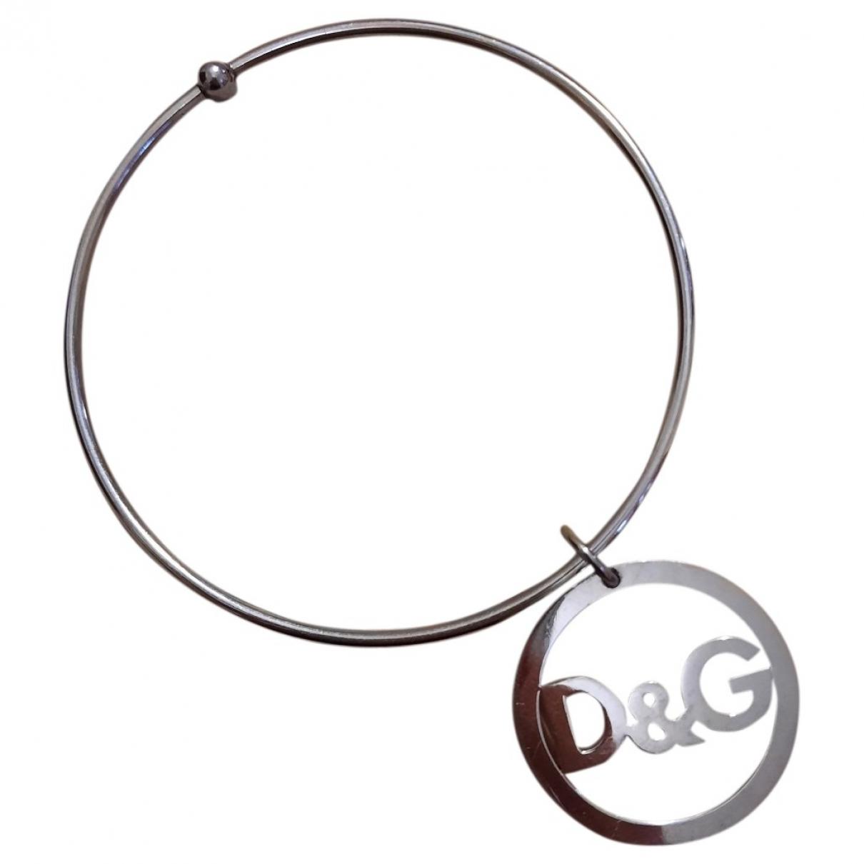 D&g - Bracelet   pour femme en acier - argente