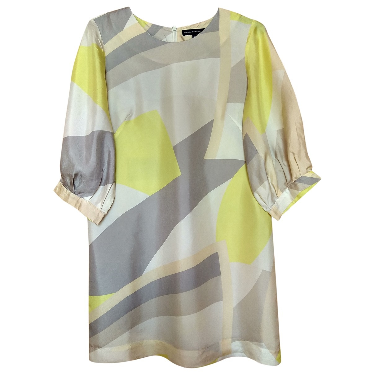 French Connection \N Kleid in  Bunt Seide