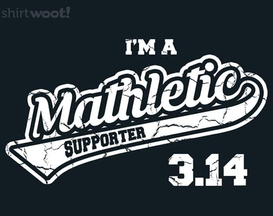 Mathletic Supporter T Shirt
