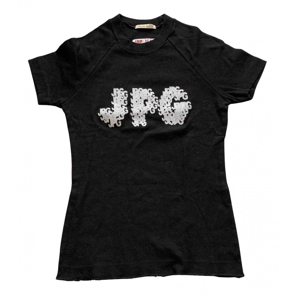 Jean Paul Gaultier N Black Cotton  top for Women 36 FR