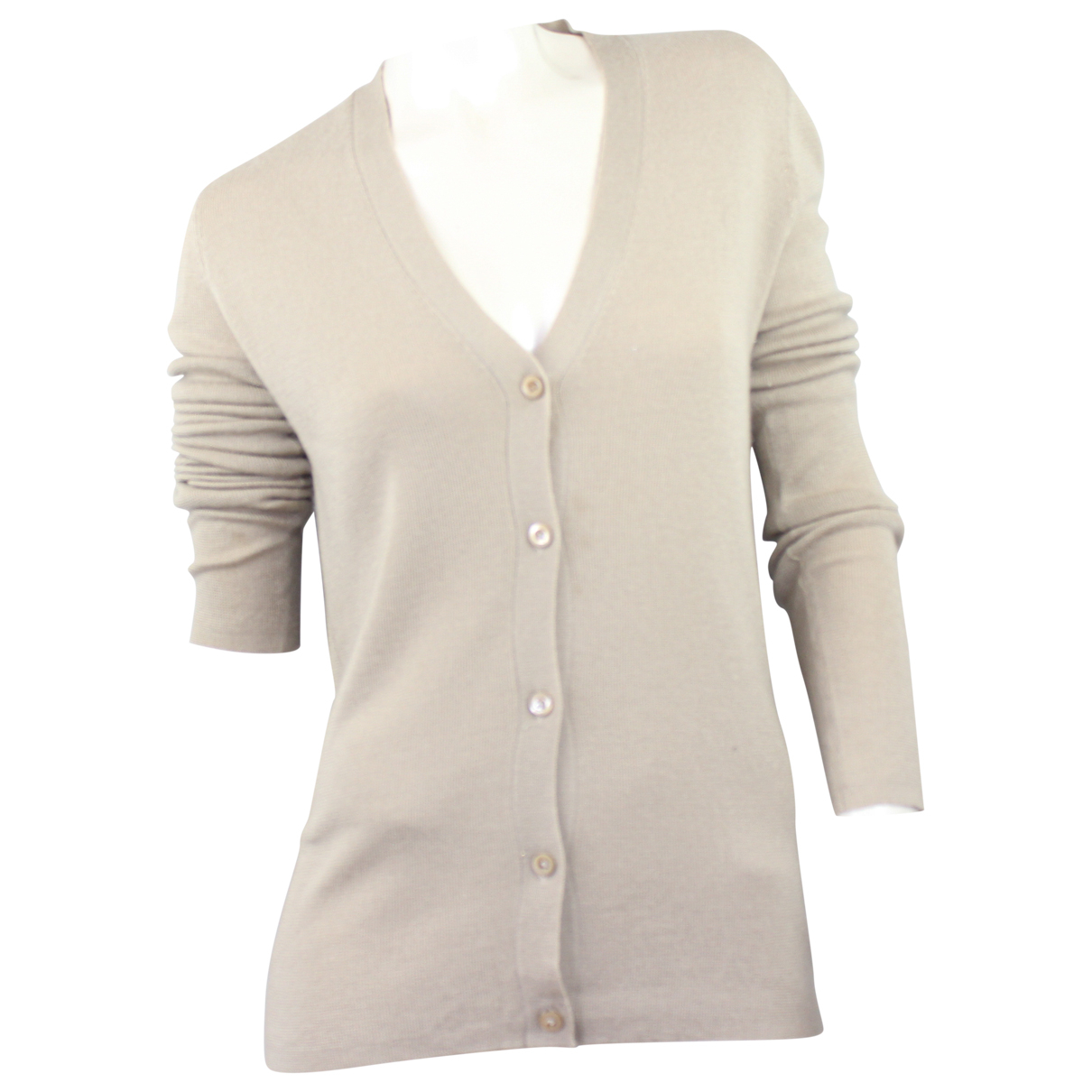 Prada - Pull   pour femme en cachemire - beige