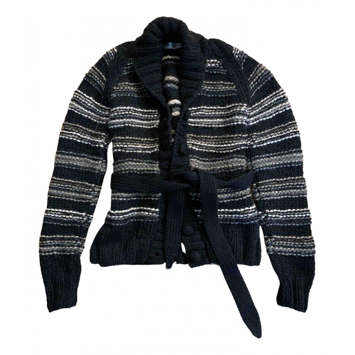 - Pull   pour femme en laine - multicolore