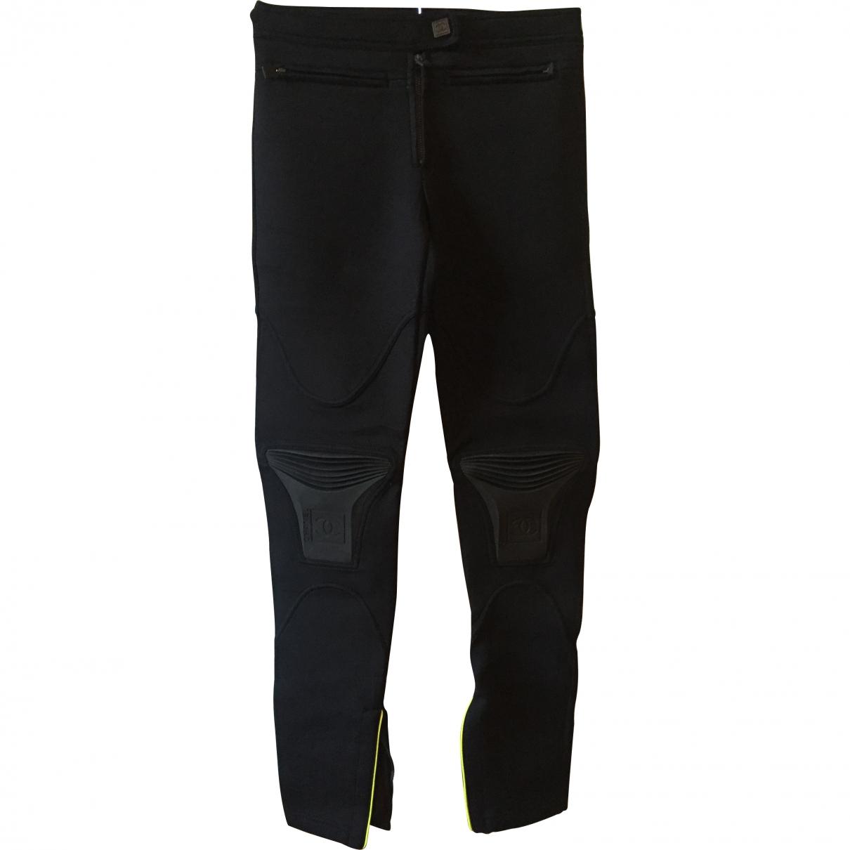 Chanel \N Black Polyamide Trousers for Women 36 FR
