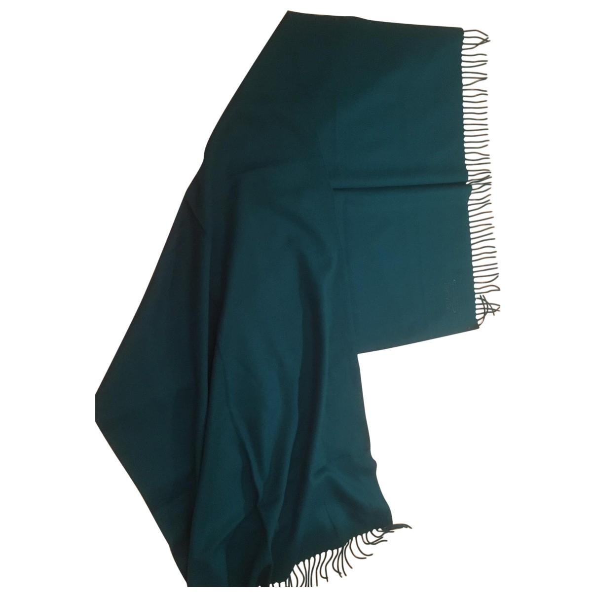 Escada - Carre   pour femme en laine - bleu