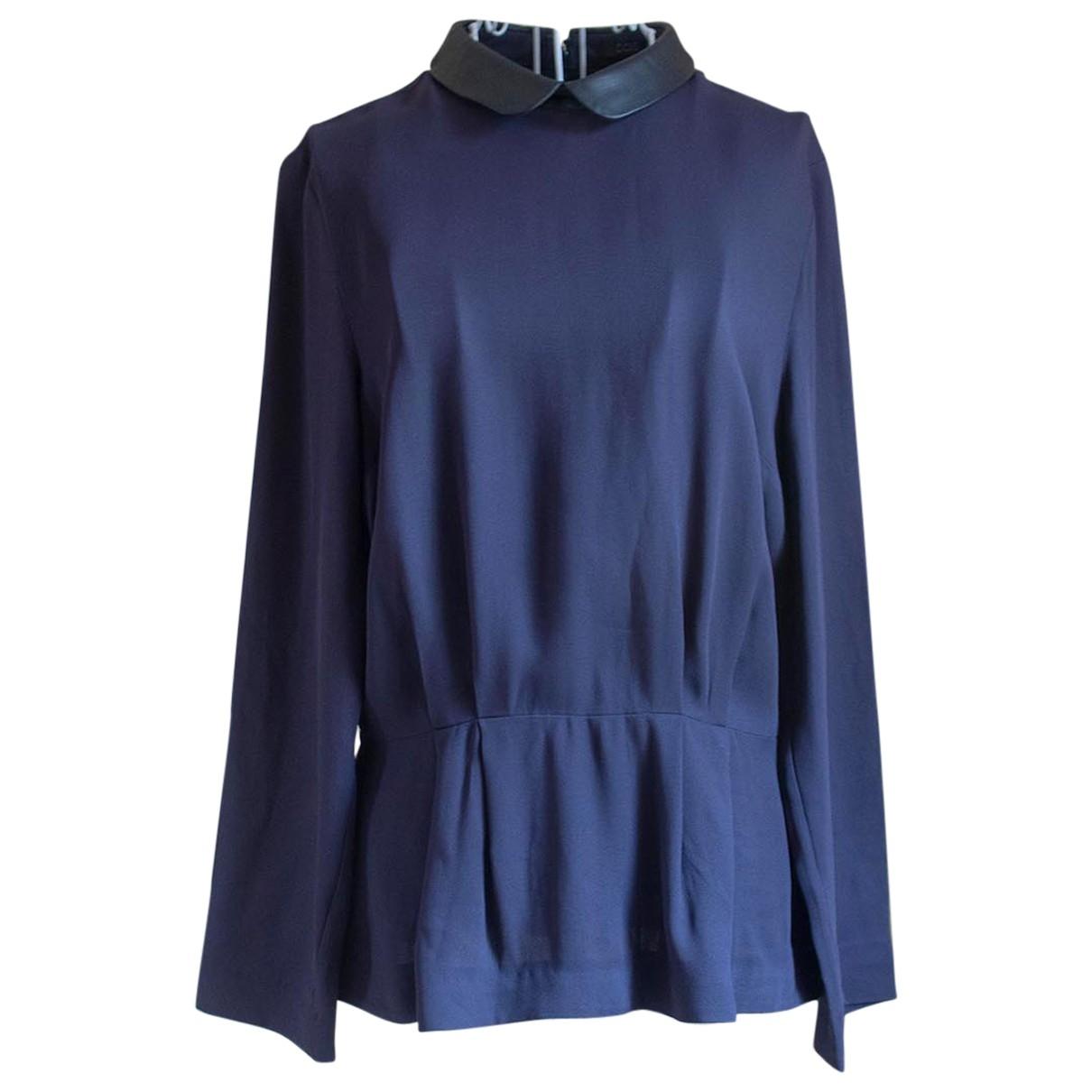 Cos \N Blue  top for Women S International