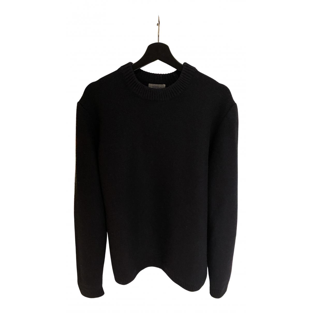 Cos \N Pullover.Westen.Sweatshirts  in  Blau Wolle