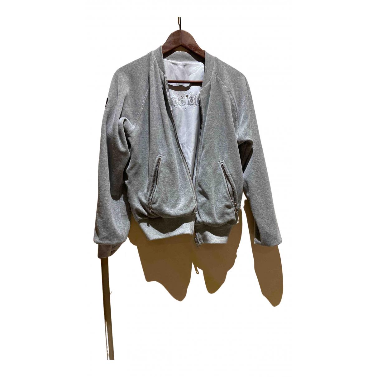 Sonia Rykiel \N Jacke, Maentel in  Grau Polyester