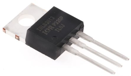 Infineon N-Channel MOSFET, 260 A, 30 V, 3-Pin TO-220AB  IRLB3813PBF (2)