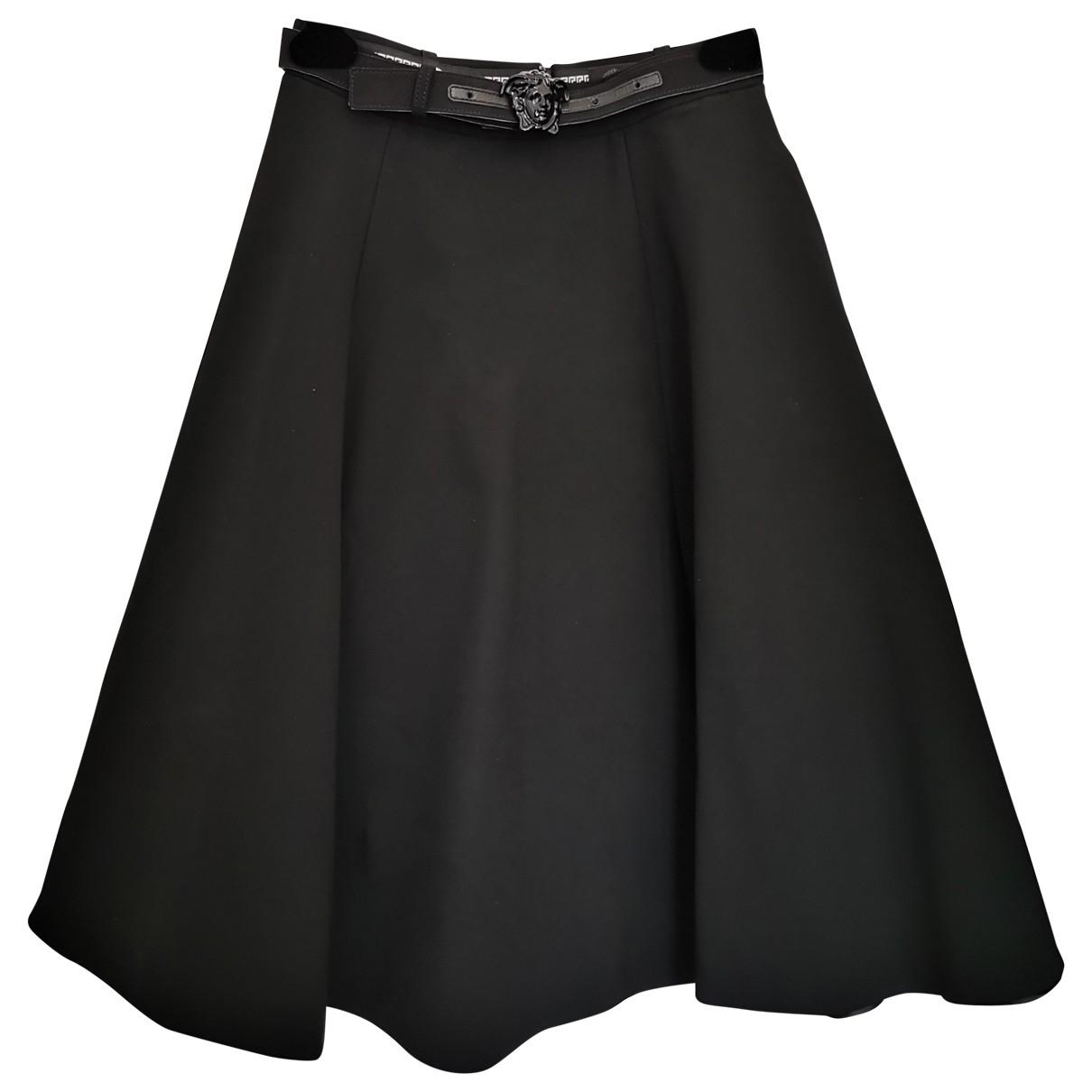 Versace \N Black skirt for Women 6 UK