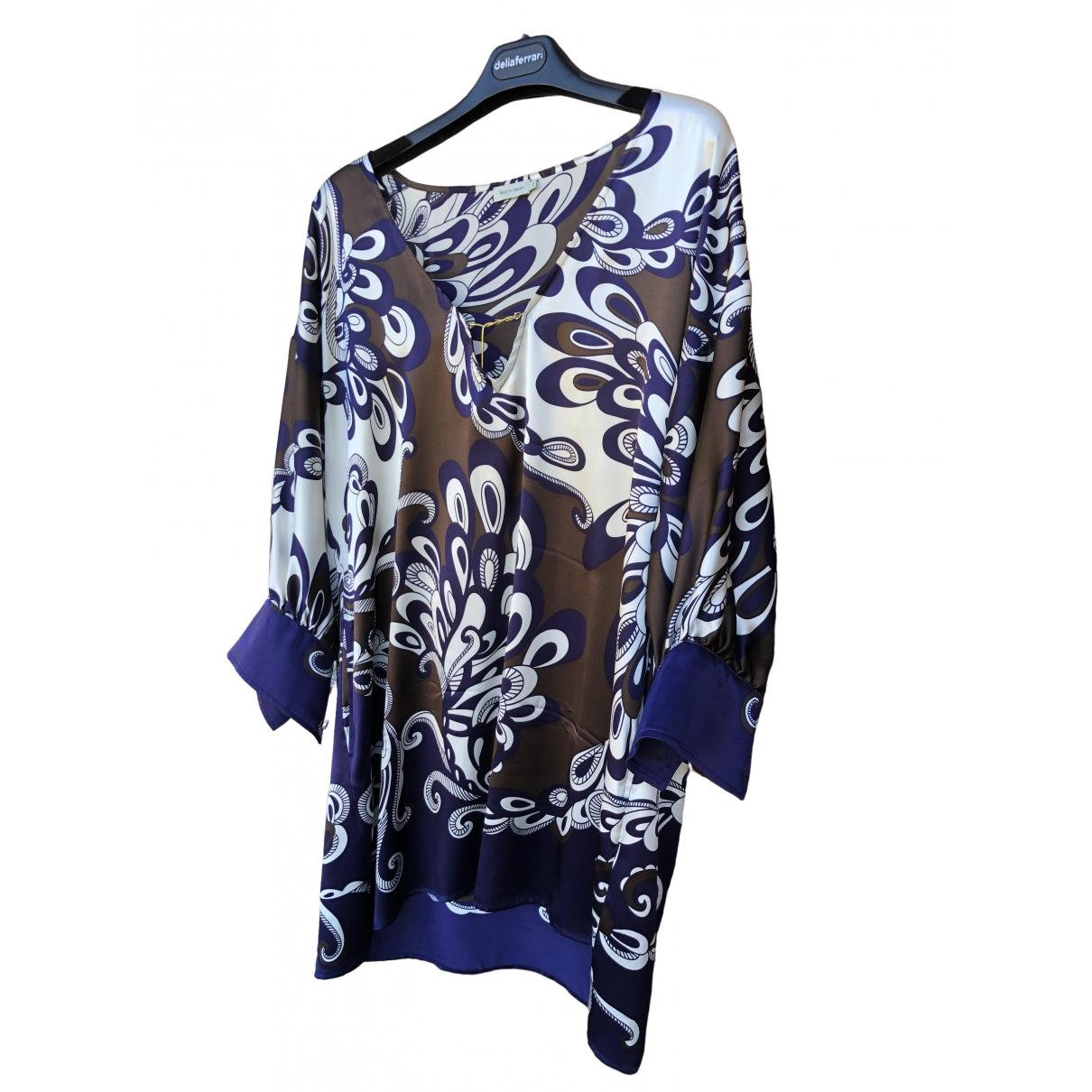 Henry Cotton \N Multicolour Silk  top for Women 48 IT