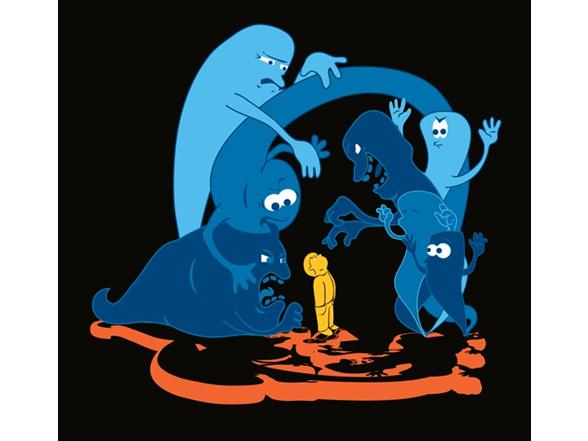 Ghosts! T Shirt
