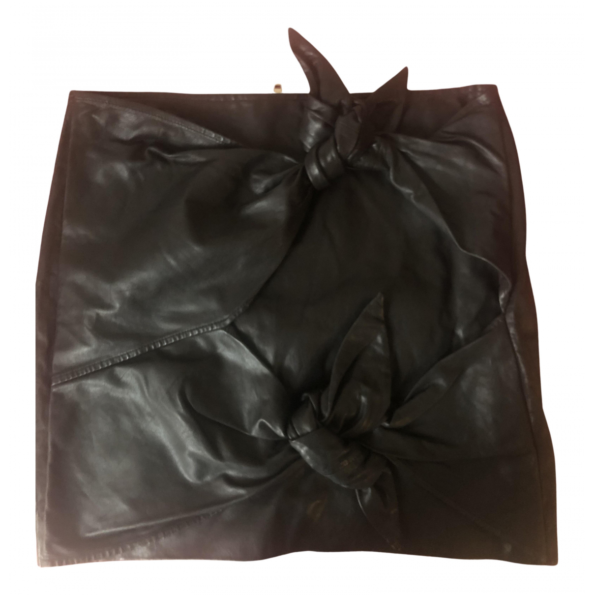 Isabel Marant Etoile \N Rocke in  Schwarz Leder