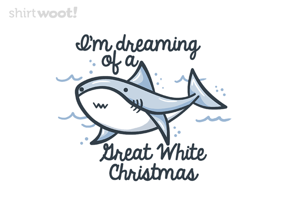Christmas Shark T Shirt