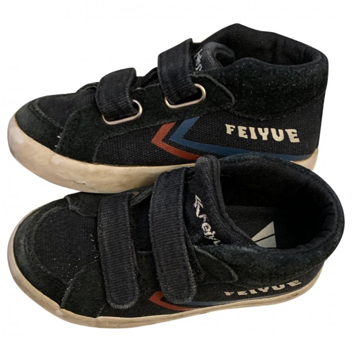 Feiyue \N Sneakers in  Schwarz Leinen