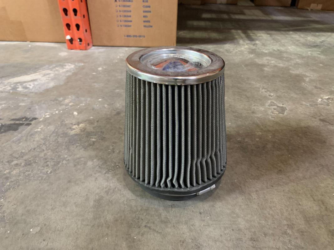 K&N 392999299751 Air Filter 5in Inlet 6.5in Diameter 7.75in Length Red Cap - CLEARANCE