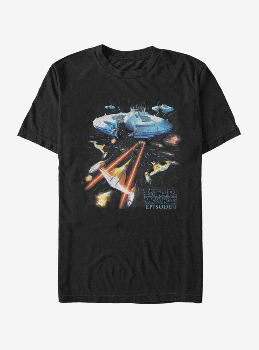 Star Wars Episode I The Phantom Menace Epic Scene T-Shirt