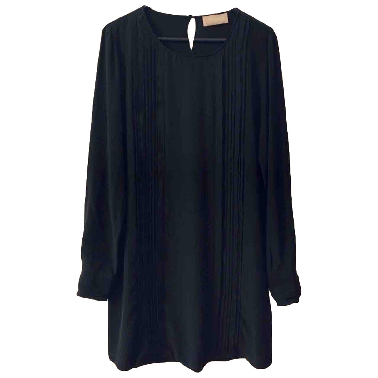 81hours - Robe   pour femme en soie - noir