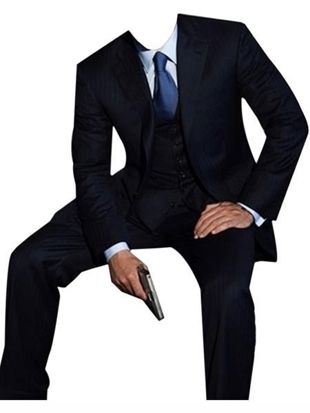 james bond ~ Daniel Craig Look Suit Tuxedo Dark Blue