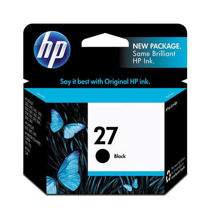 HP 27 C8727AN cartouche d'encre originale noire
