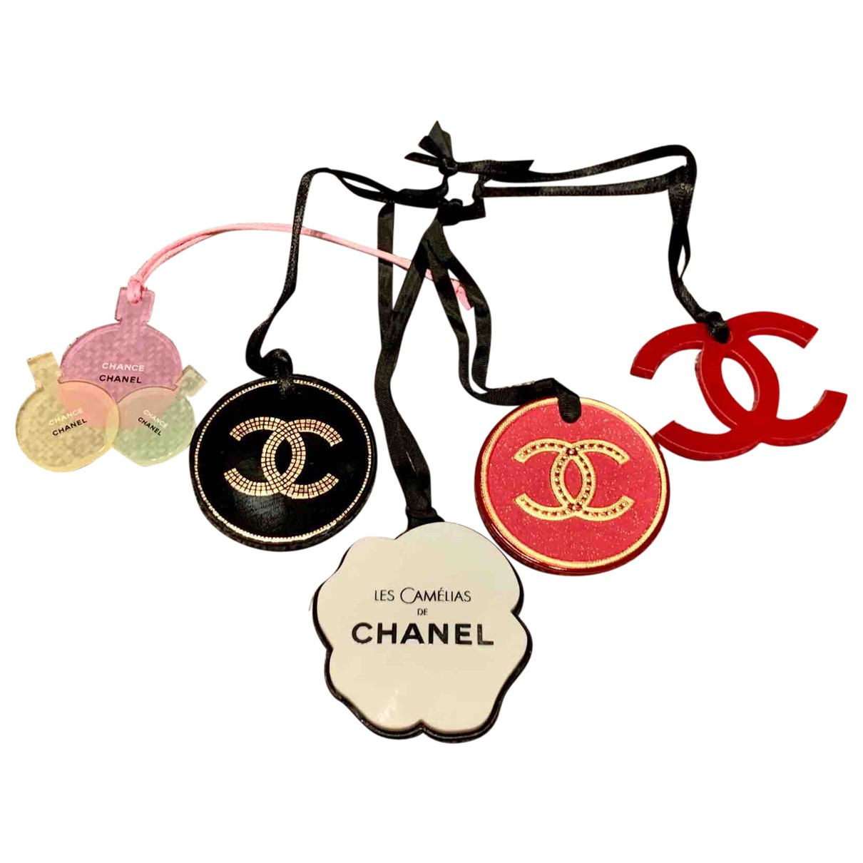 Chanel N Multicolour Cloth Phone charms for Women N