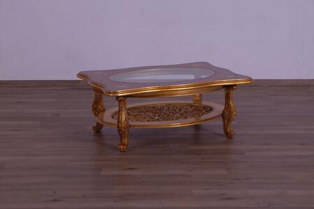 Modigliani Collection Luxury Rectangular Coffee Table  Hand Made & Carved  Mahogany Wood Solid  in Parisian Vintage