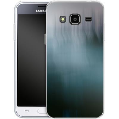 Samsung Galaxy J3 (2016) Silikon Handyhuelle - Twilight Sea Abstract von Joy StClaire