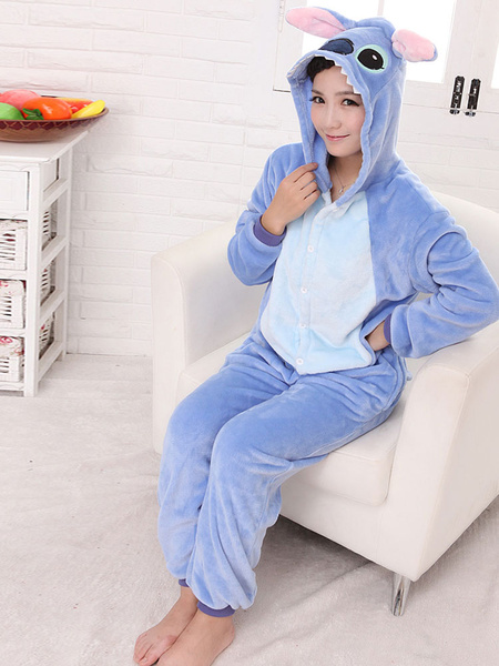 Milanoo Disfraz Halloween Azul Kigurumi de Dinosauria Halloween