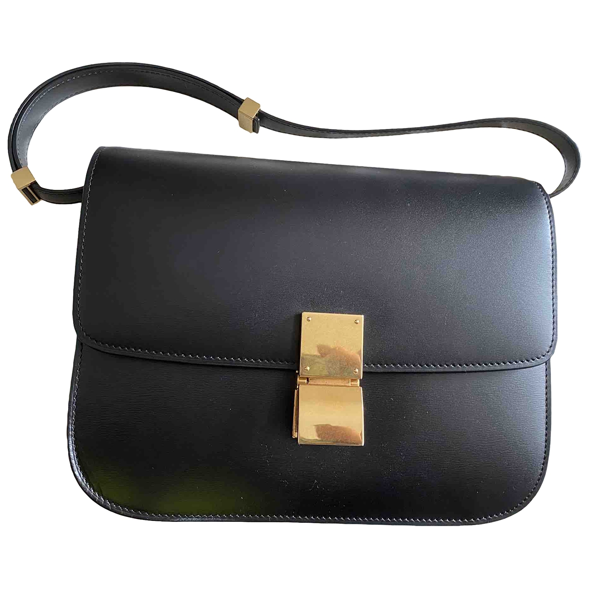 Celine Classic Black Leather handbag for Women \N