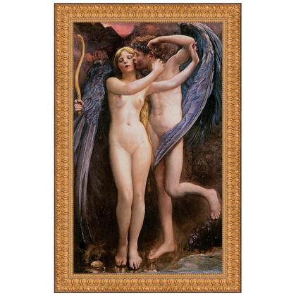 DA2382 20.5X29 Cupid And Psyche