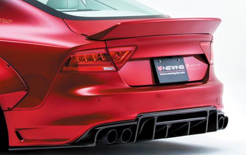 Alpil ALP-S7-RW Rear Ducktail Style Wing Audi S7 15-17