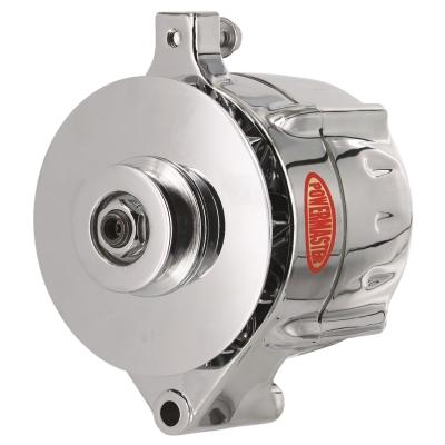 Powermaster Alternator (Chrome) - 8-37141-344
