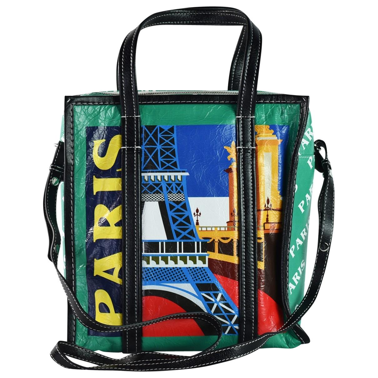 Balenciaga Bazar Bag Handtasche in  Bunt Leder