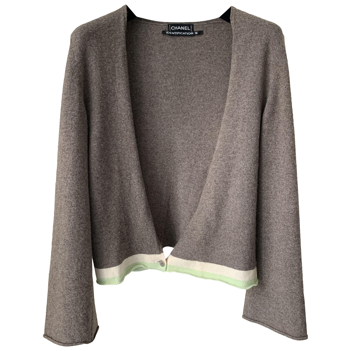 Chanel \N Grey Cashmere Knitwear for Women 38 FR